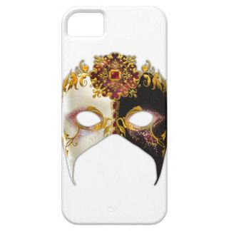 Masque veneciano: Caso de rubíes del iPhone 5 de l iPhone 5 Case-Mate Coberturas