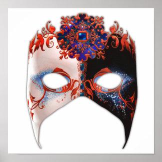 Masque veneciano: Joya del carnaval Póster
