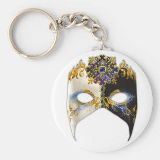 Masque veneciano: Llavero de la joya del zafiro