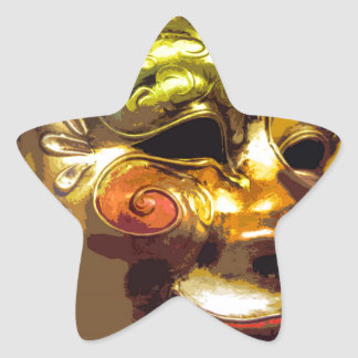 MASQUERADE 3 STAR STICKER