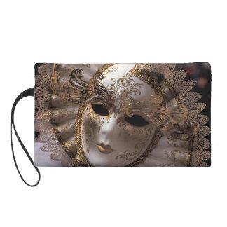Masquerade Wristlet Clutch