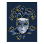 """Masquerade Ball - Designer Party Invitation 4.25"""" X 5.5"""" Invitation Card"""