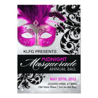 Masquerade Ball Invitation - FULLY CUSTOMIZABLE