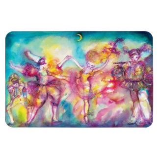 MASQUERADE BALL,Mardi Gras Masks,Dance,Music Vinyl Magnet