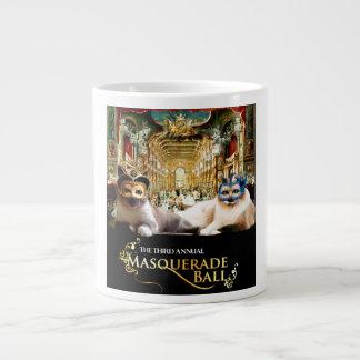 Masquerade Ball Mug 20 Oz Large Ceramic Coffee Mug