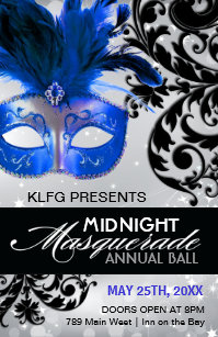 Masquerade Ball Posters
