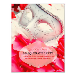 Masquerade Ball RSVP Cards