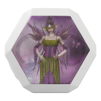 """Masquerade Ball"" White Bluetooth Speaker"