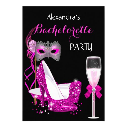 Personalized Masquerade party Invitations CustomInvitations4Ucom