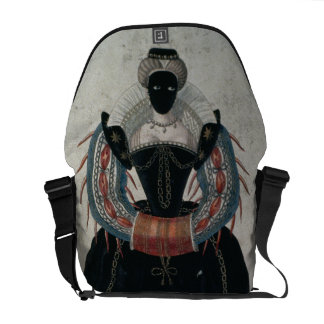 Masquerade costume in the style of Henri III (colo Courier Bags