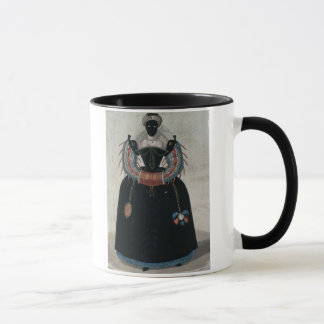 Masquerade costume in the style of Henri III (colo Mug