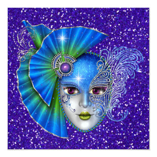 Masquerade -  Costume Party Invitation by SRF