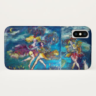 MASQUERADE DANCING AND MUSIC IN THE NIGHT iPhone X CASE