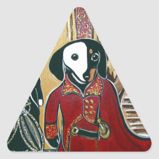 MASQUERADE DOXIE TRIANGLE STICKER