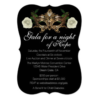 Invitations Masquerade is luxury invitations layout