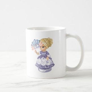 Masquerade Girl Classic White Coffee Mug