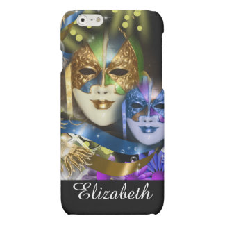 Masquerade girls name PERSONALIZE matt finish Matte iPhone 6 Case