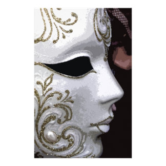 MASQUERADE (GOLD) STATIONERY PAPER