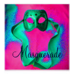 """Masquerade I"" Poster - Customizable Posters"