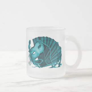 Masquerade in Teal Mug