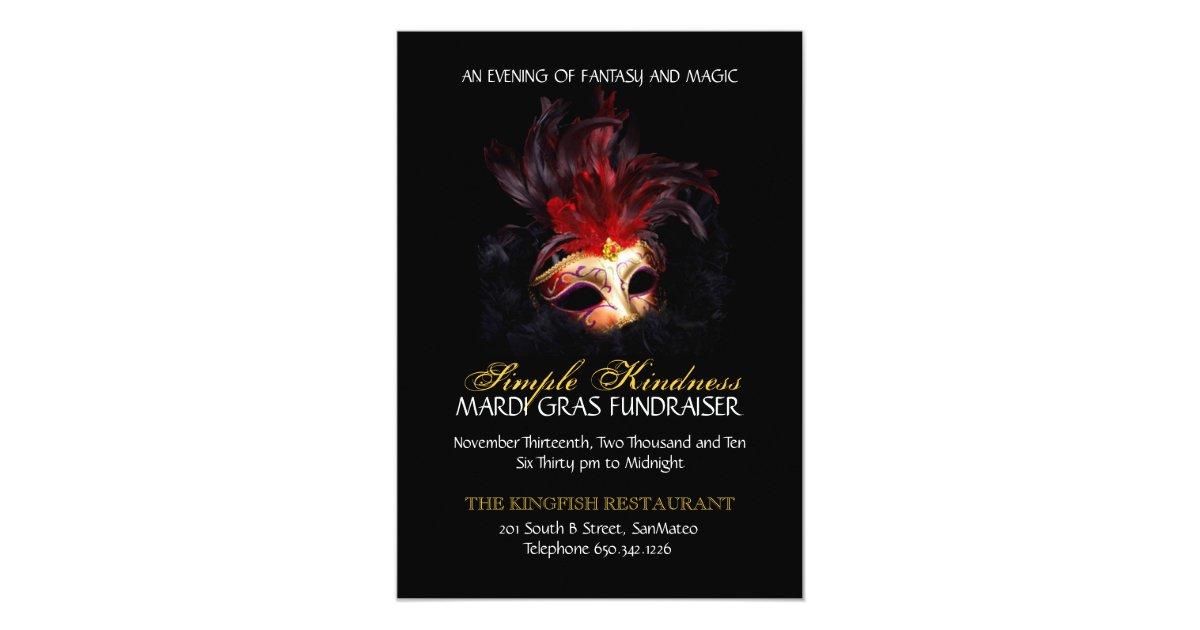 Masquerade Invitation - Custom | Zazzle.com