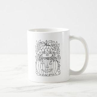 Masquerade Jack O Lantern Coffee Mug
