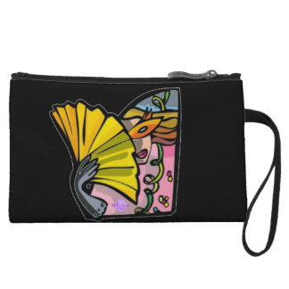 Masquerade Lady Mini Clutch Bag