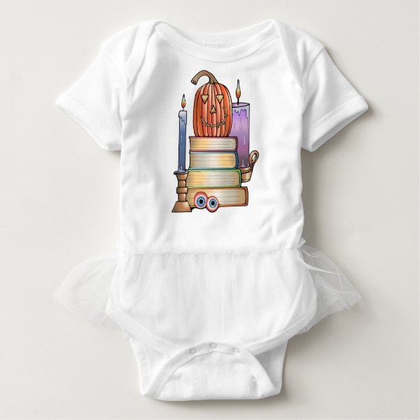 Masquerade Library Books Baby Bodysuit
