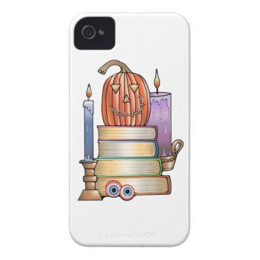 Halloween Themed Masquerade Library Books Case-Mate iPhone 4 Case