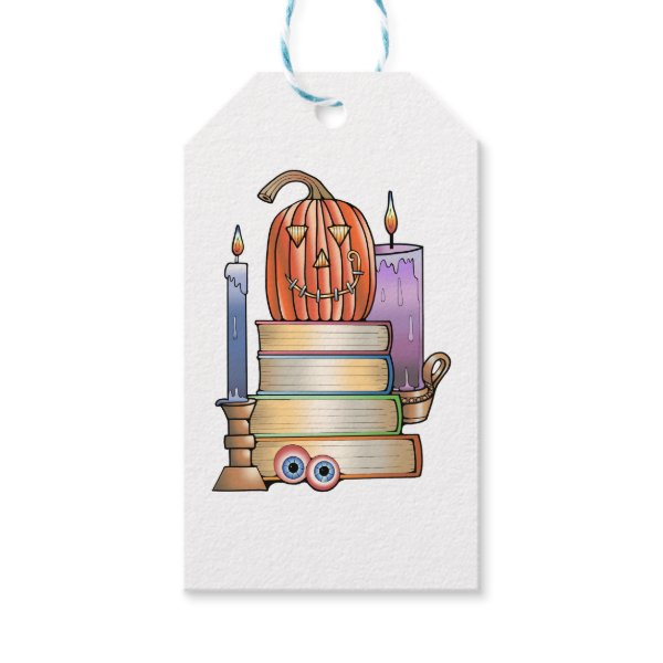 Masquerade Library Books Gift Tags