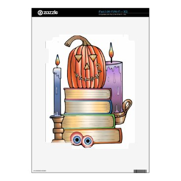 Halloween Themed Masquerade Library Books iPad 2 Skin