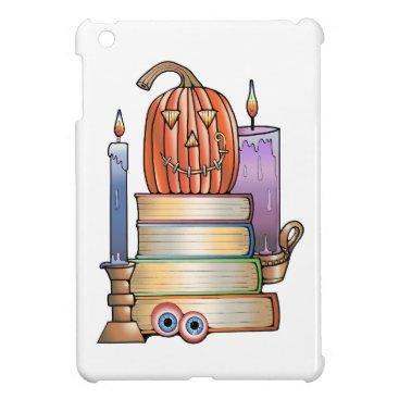Halloween Themed Masquerade Library Books iPad Mini Cover