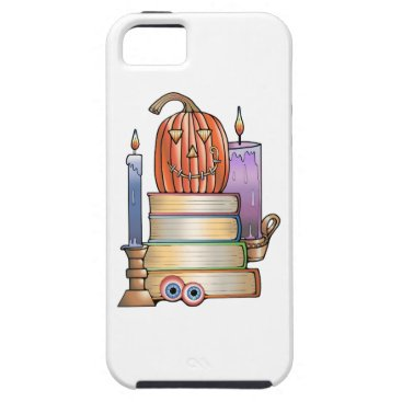 Halloween Themed Masquerade Library Books iPhone SE/5/5s Case