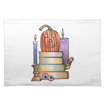 Masquerade Library Books Placemat