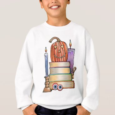 Halloween Themed Masquerade Library Books Sweatshirt