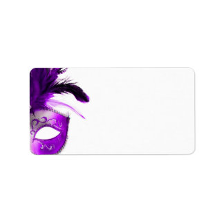 Masquerade Mailing Labels