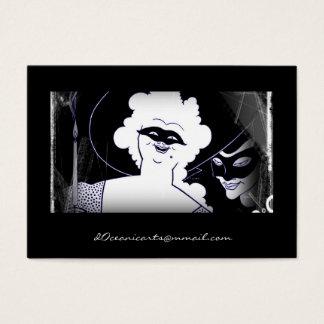 Masquerade Mardi Gras Business Card