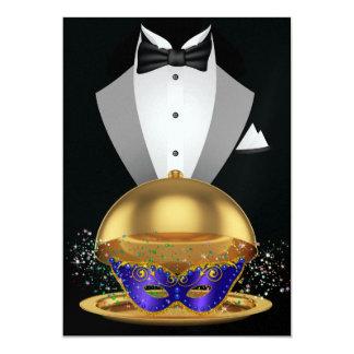 Masquerade / Mardi Gras Elegant Invitation