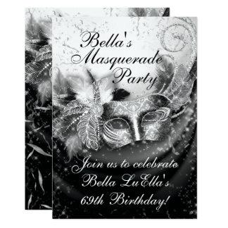 Masquerade Mardi Gras Party Invitation
