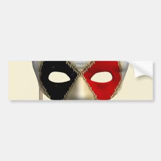Masquerade Mask Bumper Sticker