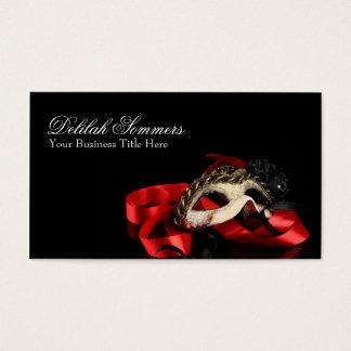 Masquerade Mask Business Card