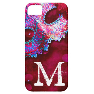 Masquerade Mask Costume Monogram IPHONE 5 Case