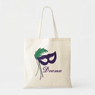 Masquerade Mask Drama Club Theatre Tote Bag