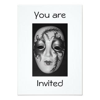 Masquerade Mask i You are Invited Invitation