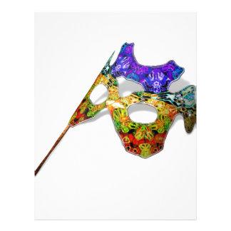 Masquerade Mask Letterhead