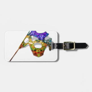 Masquerade Mask Tag For Luggage