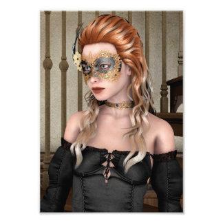Masquerade Mask Photo Print