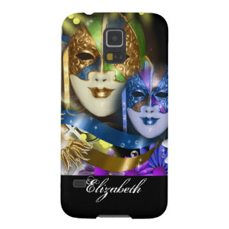 Masquerade masks girls name PERSONALIZE Case For Galaxy S5
