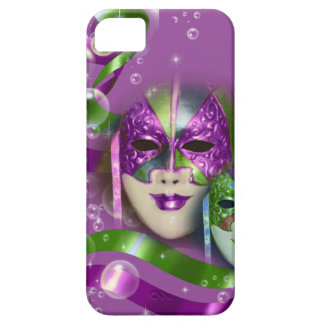 Masquerade masks girls pink green PERSONALIZE iPhone SE/5/5s Case