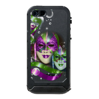 Masquerade masks girls pink green PERSONALIZE Waterproof Case For iPhone SE/5/5s